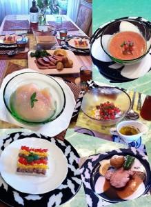 2013 08の料理